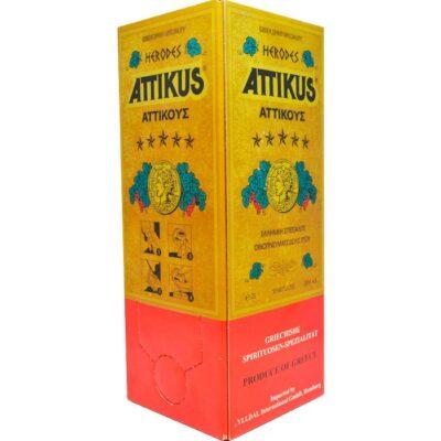 Бренди Атикус (Attikus) 2 литра в тетрапаке
